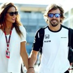 Lara Alvarez and Fernando Alonso