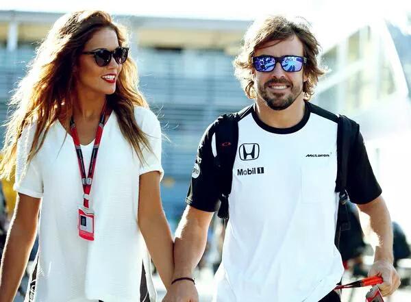 Lara Alvarez and Fernando Alonso